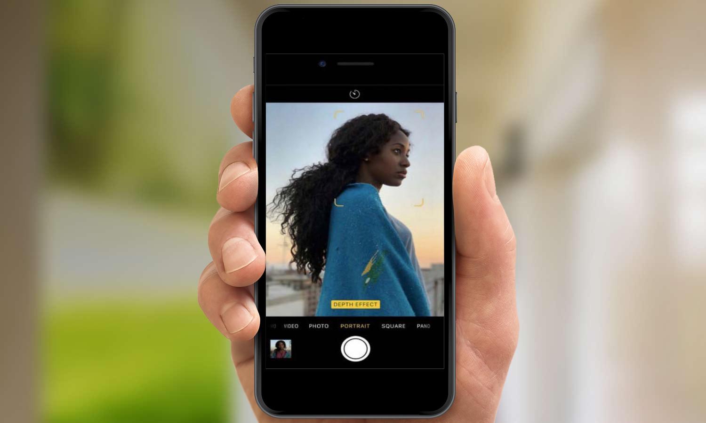 портретная фотосъемка в каком айфоне есть приколи